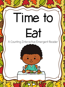 Thanksgiving Emergent Reader (Counting)