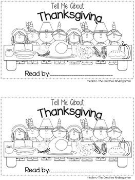 Thanksgiving {Emergent Reader & Math Quick-Pack}