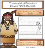 Thanksgiving Activities Thanksgiving Emergent Reader Strip