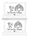 Thanksgiving Emergent Reader Treasures Kindergarten High Frequency Words