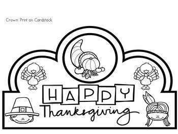 Thanksgiving Emergent Reader and Literacy Packet With Turkey Craft