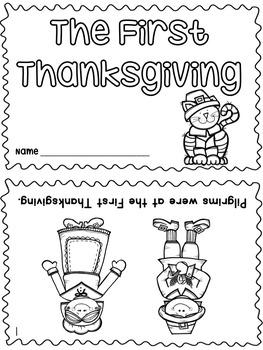 Thanksgiving Emergent Readers!