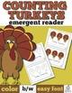 Thanksgiving Emergent Readers Bundle