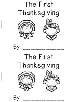 Thanksgiving Emergent Readers {Set of 5 Read and Write Books}