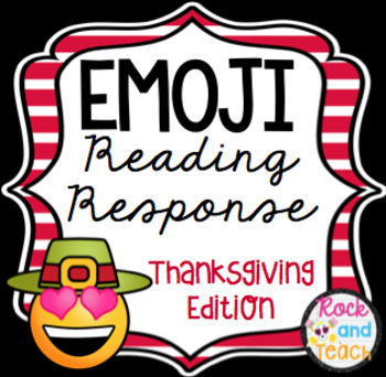 Emoji Reading Homework ~ Thanksgiving Edition