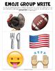 Thanksgiving Emoji Writing Prompts
