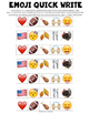 Thanksgiving Emoji Writing Prompts