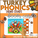 Thanksgiving Activities Ending Sound Practice | Digital Bo