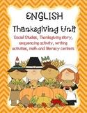 Thanksgiving: English Unit