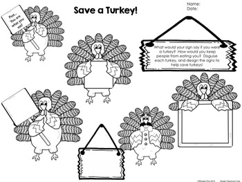 Thanksgiving Early Finishers Enrichment Activities - I'm Done Teacher! November