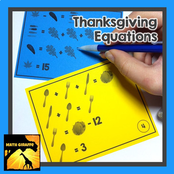 Thanksgiving Equations