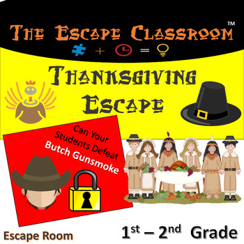 Thanksgiving Escape Room (1-2 Grade)   The Escape Classroom