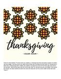 Thanksgiving Escape Room
