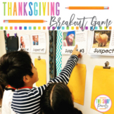 Thanksgiving Escape Room Activity