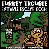 Thanksgiving Escape Room | Thanksgiving Math & ELA Activities