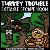 Thanksgiving Escape Room EDITABLE