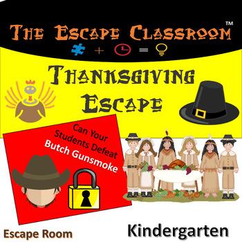 Thanksgiving Escape Room (Kindergarten)   The Escape Classroom