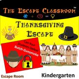 Thanksgiving Escape Room (Kindergarten) | The Escape Classroom
