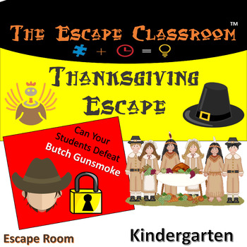 Thanksgiving Escape Room (Kindergarten)