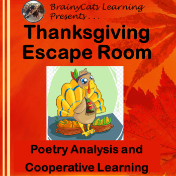 Thanksgiving Escape Room:  Poetry Analysis and Cooperative Learning