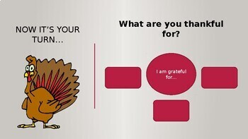 Thanksgiving Essay Writing Project