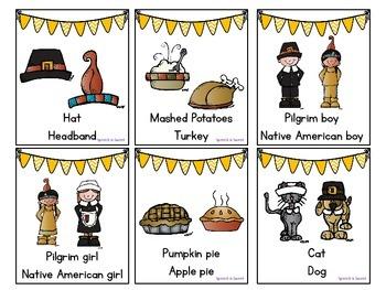 Thanksgiving Expressive Language