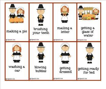 Thanksgiving Expressive Language Pack