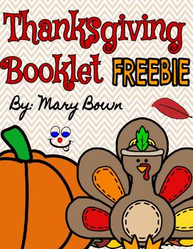 Thanksgiving Booklet FREEBIE