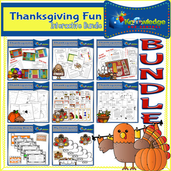 Thanksgiving FUN Interactive BUNDLE
