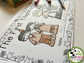 Thanksgiving Activities for Math, Literacy and Social Studies BIG Pack