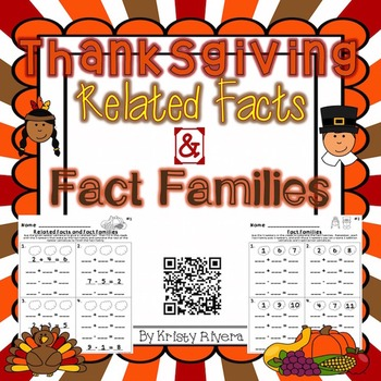 Thanksgiving Fact Families