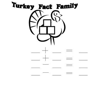 Thanksgiving Fact Family Game