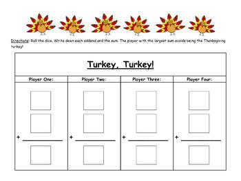 Thanksgiving Fact Game (***FREEBIE***)
