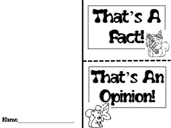 Thanksgiving Fact and Opinion FREEBIE