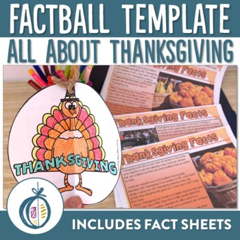 Thanksgiving Factball and Comprehension Sheets