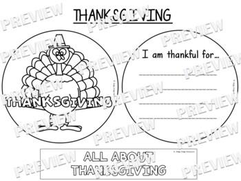 Thanksgiving Factball and Fact Sheets Craftivity