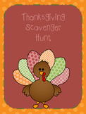 Thanksgiving Day Facts Scavenger Hunt