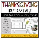 Thanksgiving Facts Scavenger Hunt