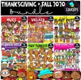 Thanksgiving & Fall 2020 Clip Art Bundle {Educlips Clipart}