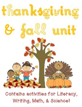 Thanksgiving & Fall Activity Pack