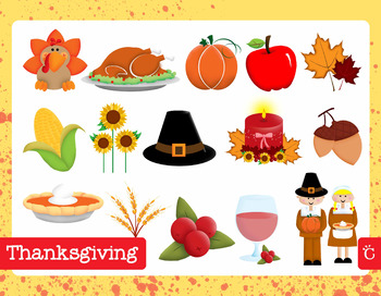 Thanksgiving / Fall / Autumn Clip Art