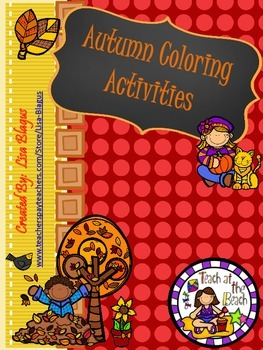 Autumn Coloring Activities