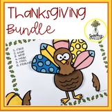Thanksgiving / Fall Bundle : Speech & Language Therapy Activities