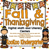 Thanksgiving/Fall Digital Literacy and Math Centers-Compat