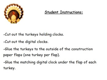 Thanksgiving / Fall Math Centers for Primary Grades