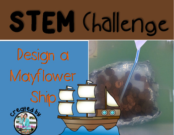 Thanksgiving Fall Mayflower STEM Engineering Challenge