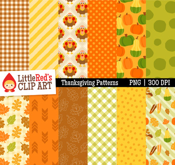 Thanksgiving Fall Patterns