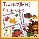 Thanksgiving / Fall Sequencing : Speech & Language Therapy