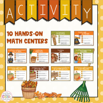 Thanksgiving/Fall-Themed Math Centers