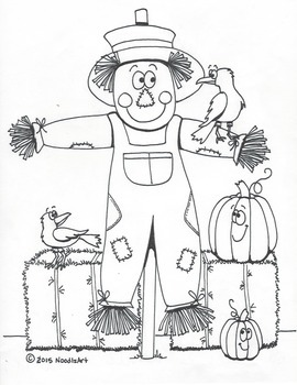 Thanksgiving (Fall) fun coloring pages